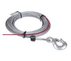 WA-602 Wire rope W/Hook 4.8mmx15.2m for Cub 3 - steel rope